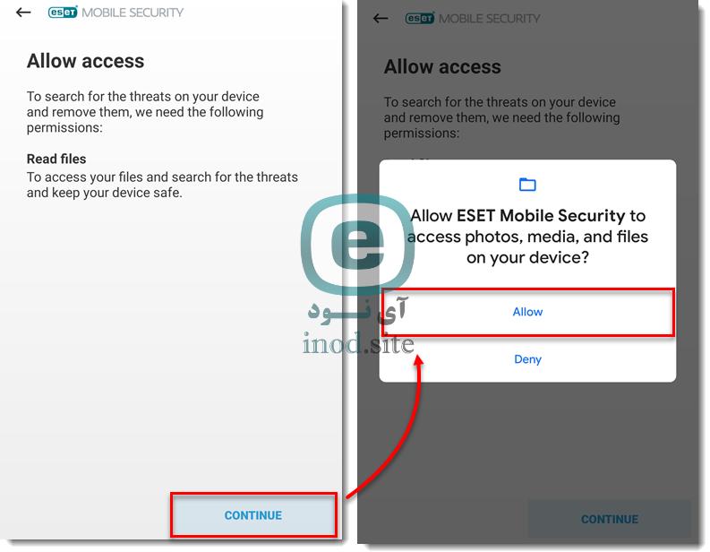 نصب و فعالسازی ESET Mobile Security به صورت رایگان و پرمیوم